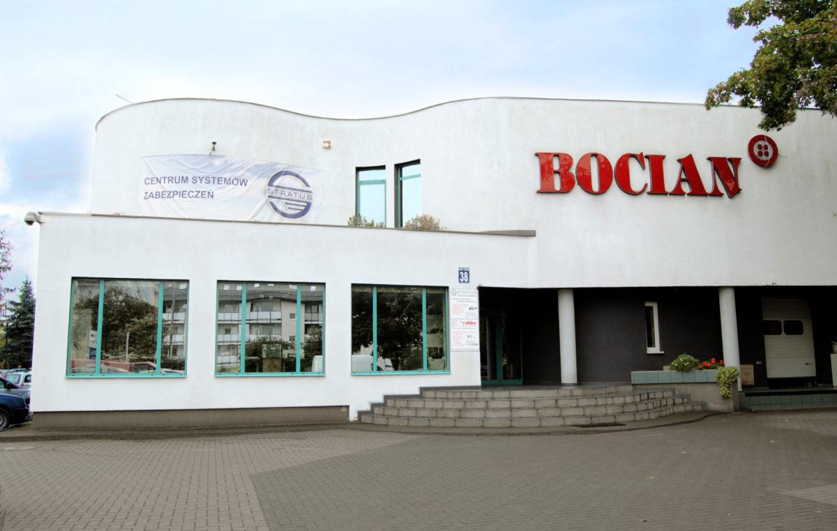 Bocian Sp.j. - hurtownia guzików, sieć pasmanterii