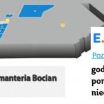 Położenie pasmanterii BOCIAN Lublin