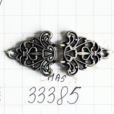 Zapięcie metalowa klamra 33385