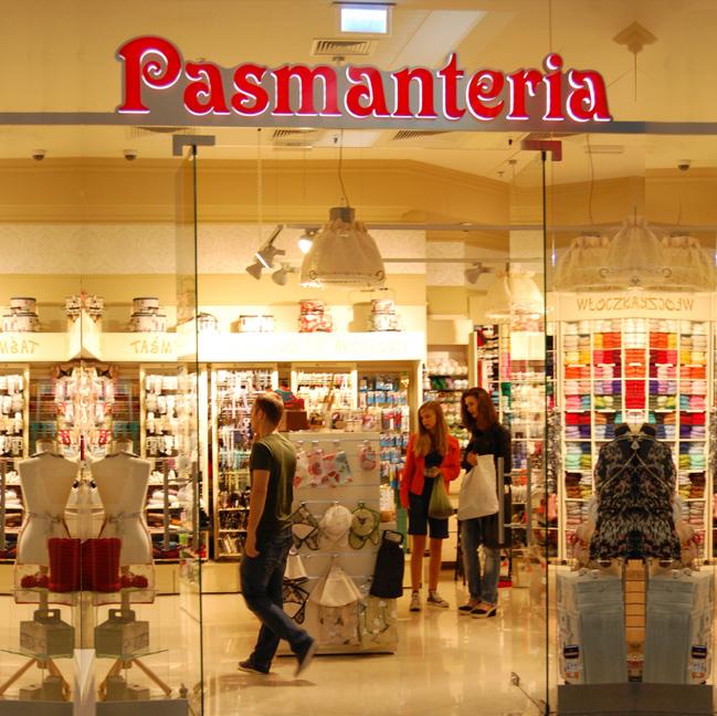 Pasmanteria BOCIAN w Warszawie ul. Wołoska 12