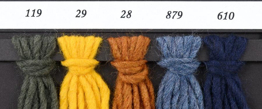 Wzornik kolorów włóczki Cenerentola