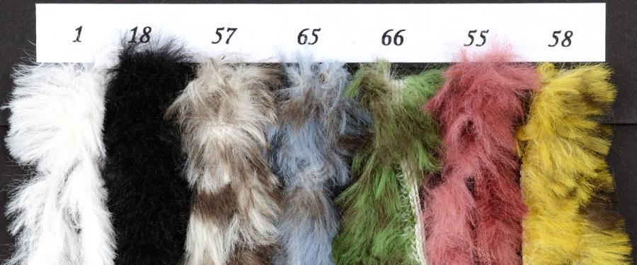 Wzornik kolorów włóczki Duchessa