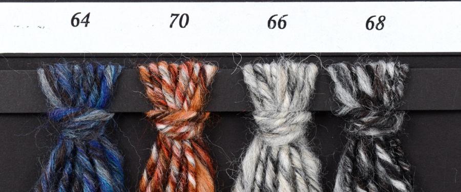 Wzornik kolorów włóczki Merlino