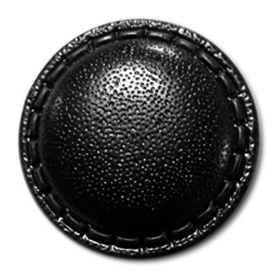 Guzik skóropodobny 98034 BLACK 40''